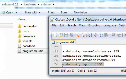 Modify programmers.txt file accordingly